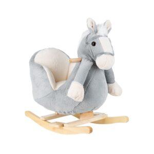 Balancín caballo gris de Kikka boo