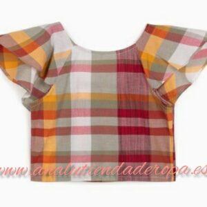 blusa de cuadros Zippy