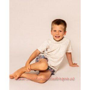 niño camiseta de puntos