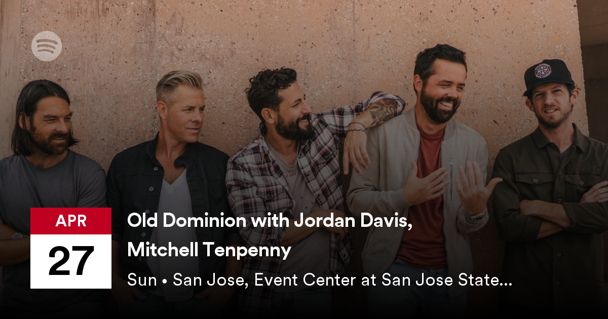 Old Dominion with Jordan Davis and Mitchell Tenpenny
