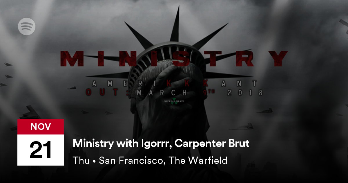 Igorrr with Carpenter Brut and Ministry