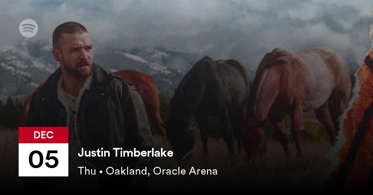 justin timberlake oracle arena