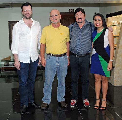 Philippe, Karsten Schroeder, Guido & Sheila