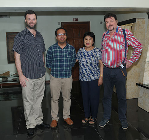Philippe, Dr. Emmanuel Ryan C. de Chavez & Dr. Ayolani V. de Lara. of UP-Los Ban?os & Guido