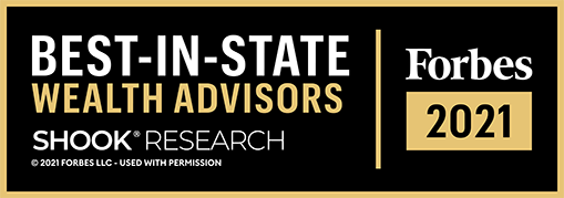 Forbes Best-In-State Wealth Advisors Logo