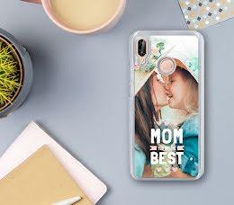 Cover Iphone 7 Plus flip sportellino personalizzata solo Fronte