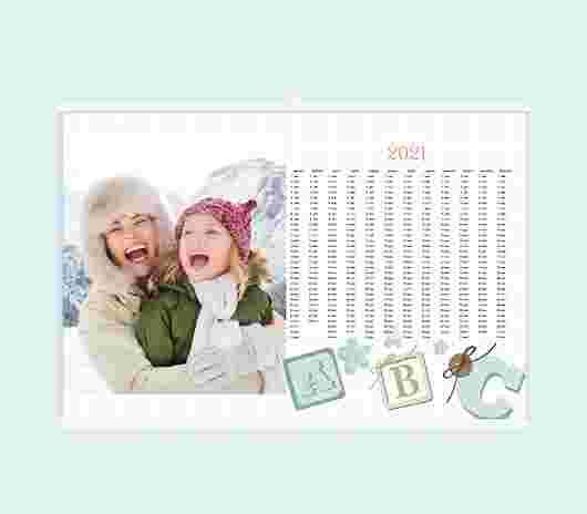 Alphabet Annuale 30X20 - PhotoSì