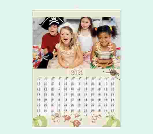Alphabet Annuale 30X40 - PhotoSì