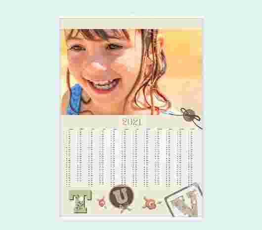 Alphabet Annuale 50X70 - PhotoSì