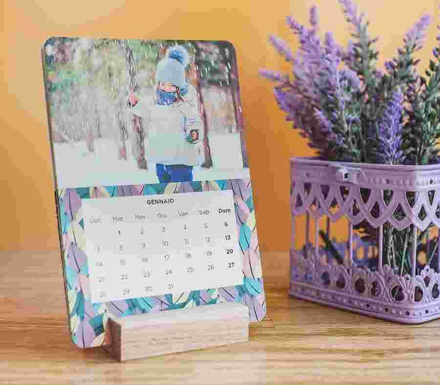 Calendario Da Tavolo Cards_01 - PhotoSì