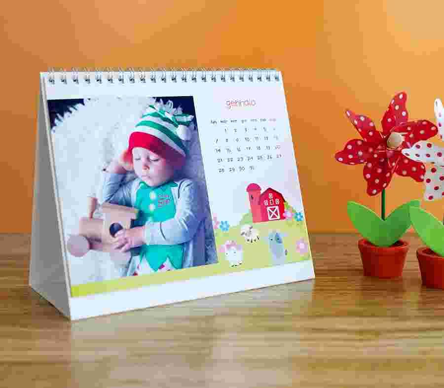 Calendario Scrivibile.Calendario Con Foto Da Stampare Photosi