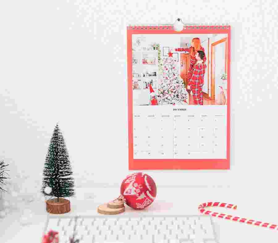 Calendario Mensile Natale - PhotoSì