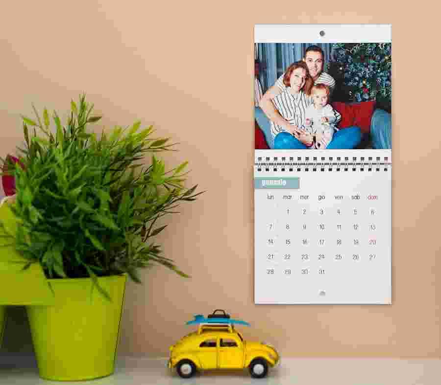 Calendario Mensile Quadrato_01 - PhotoSì