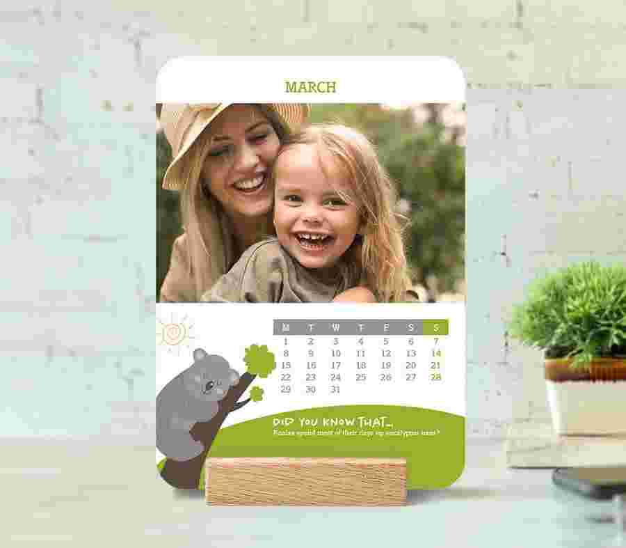 Calendario De Mesa 03 - PhotoSì