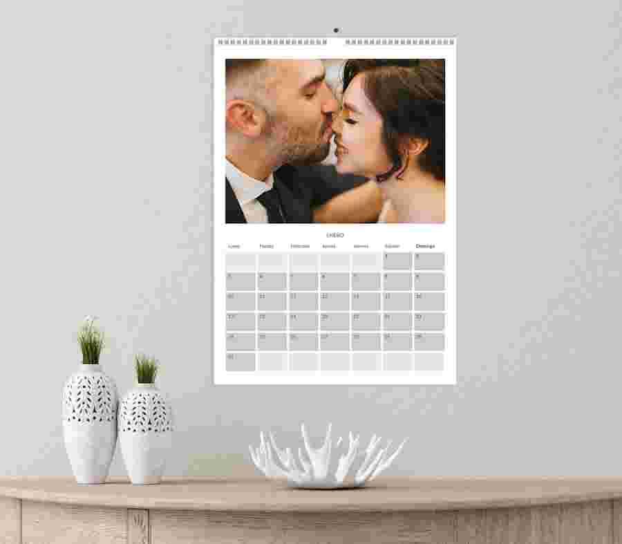 Calendarios Mensuales De Boda - PhotoSì