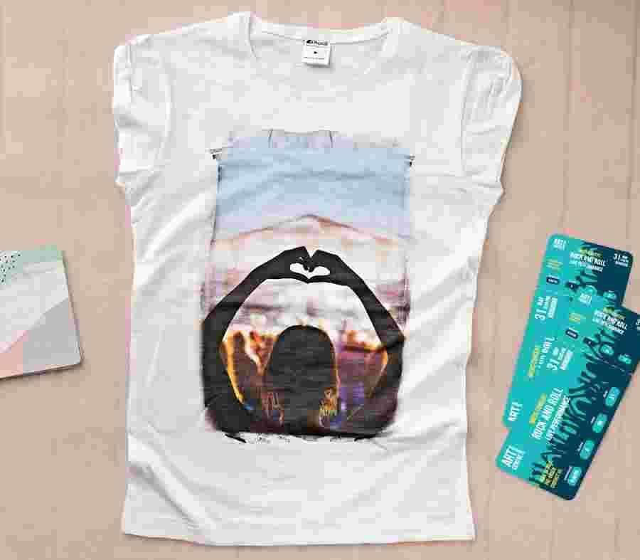 Camiseta Mujer 01 - PhotoSì