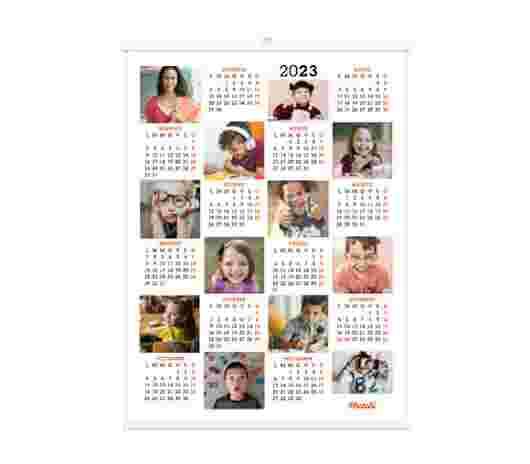 Collage Mosaico Annuale 30X40 - PhotoSì