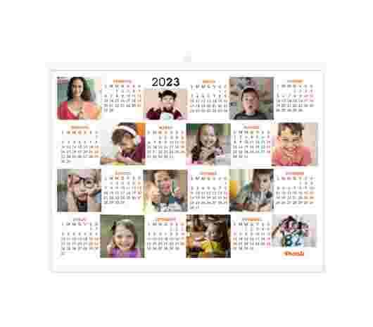 Collage Mosaico Annuale 40X30 - PhotoSì