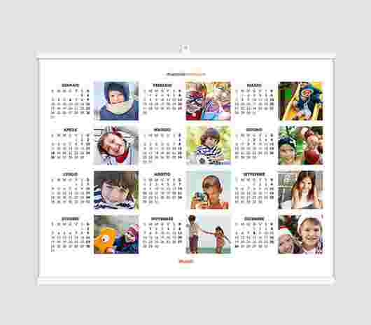 Collage Regular Annuale 40X30 - PhotoSì