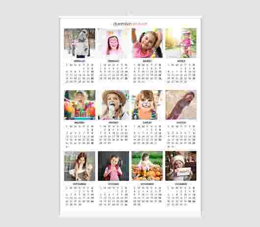 Collage Regular Annuale 50X70 - PhotoSì