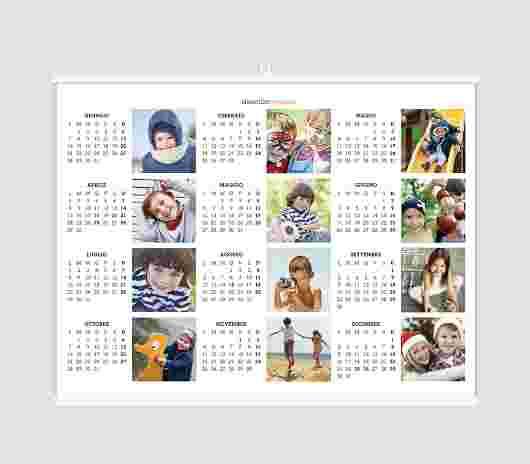 Collage Regular Annuale 70X50 - PhotoSì
