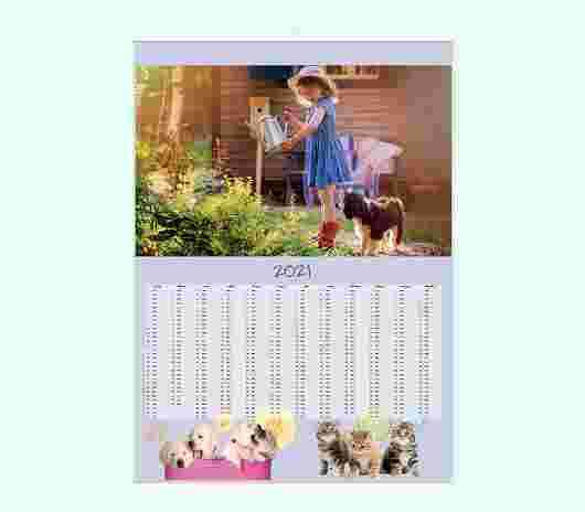 Cuccioli Annuale 50X70 - PhotoSì
