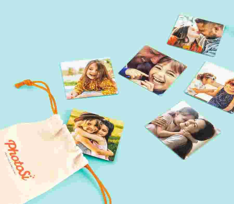 Imanes Cuadrados (Kit 6 Piezas) - PhotoSì