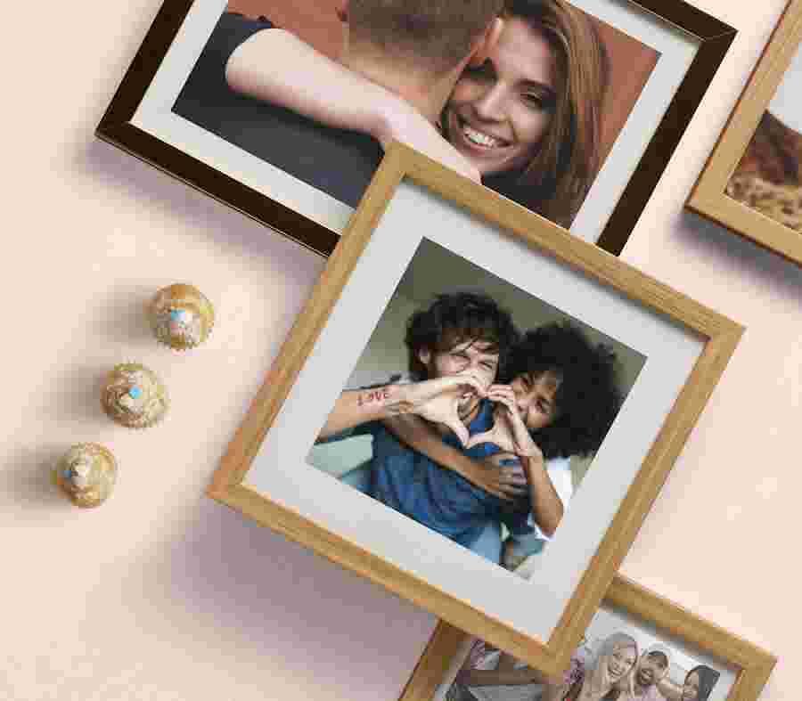 Marcos Personalizados Para Fotos De Aniversario - PhotoSì