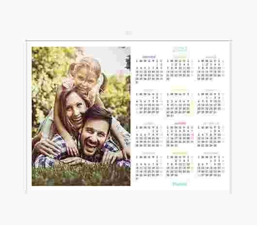 Minimal Color Annuale 40X30 - PhotoSì
