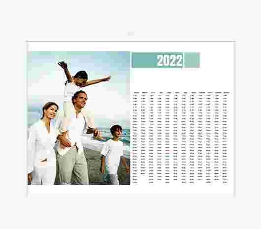 Minimal White Annuale 40X30 - PhotoSì