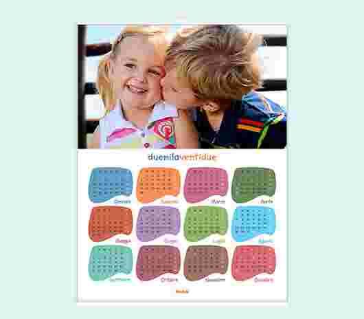 Multicolor Annuale 30X40 - PhotoSì