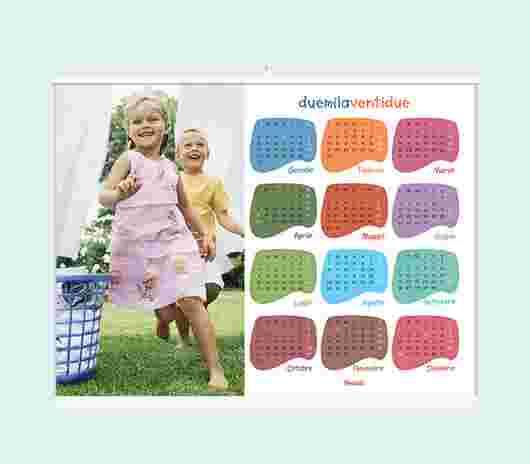 Multicolor Annuale 40X30 - PhotoSì