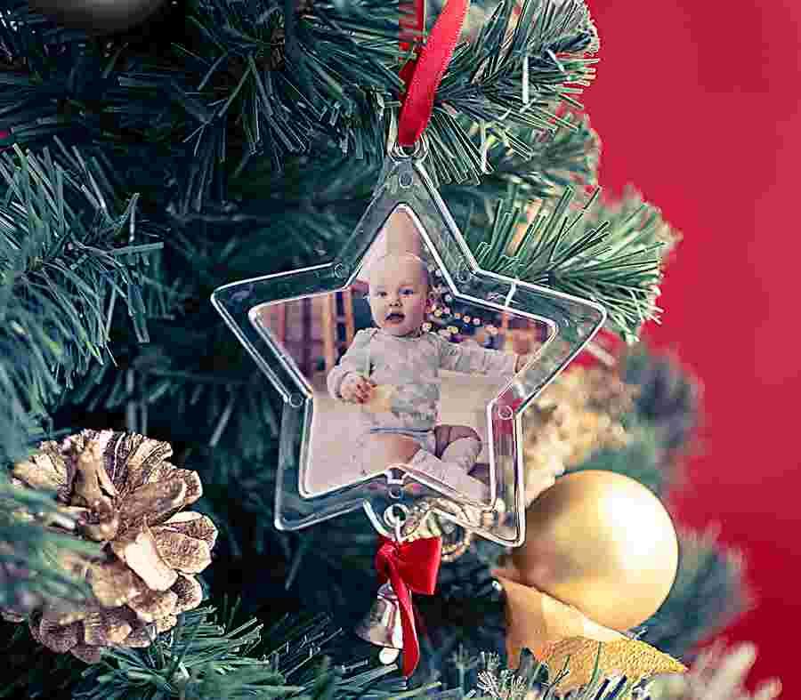 Palla Di Natale Stella_01 - PhotoSì