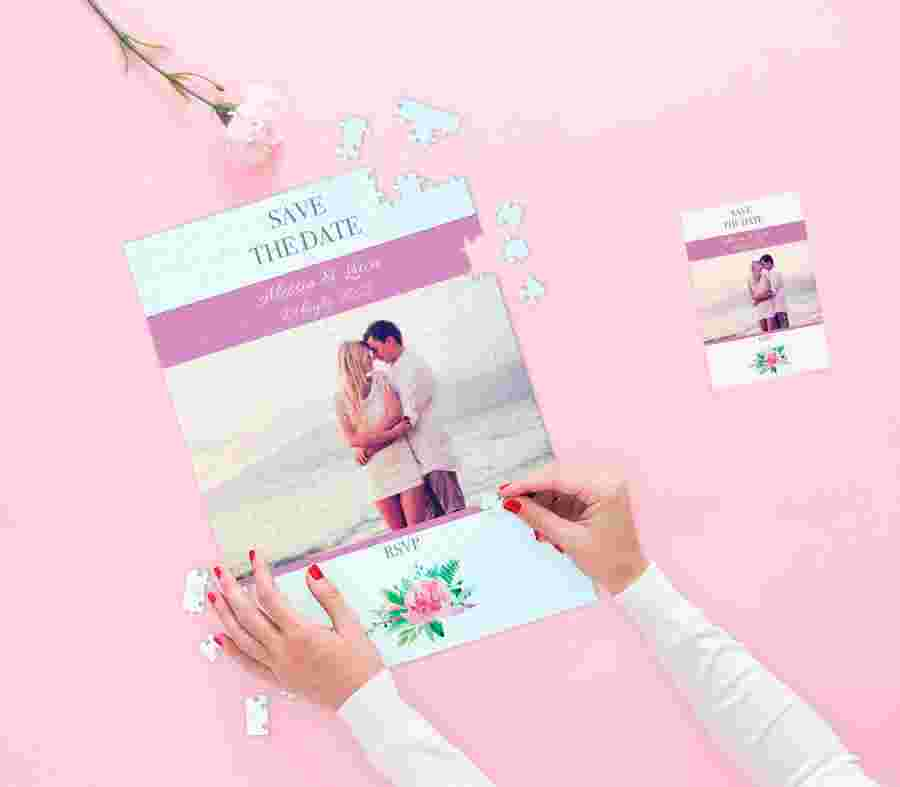 Partecipazioni E Inviti Matrimoni Puzzle - PhotoSì
