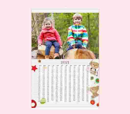 Sweet Bear Annuale 20X30 - PhotoSì