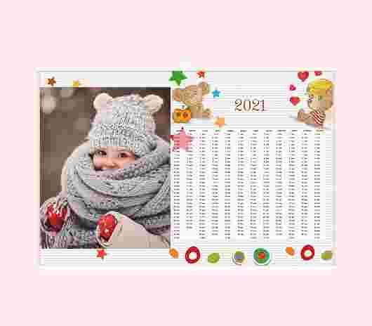 Sweet Bear Annuale 30X20 - PhotoSì