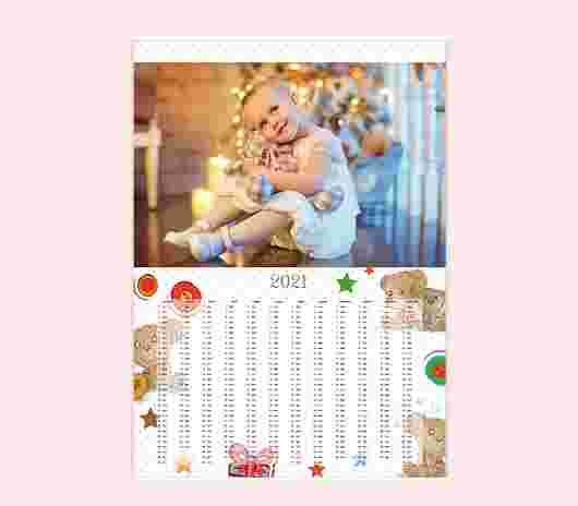 Sweet Bear Annuale 50X70 - PhotoSì