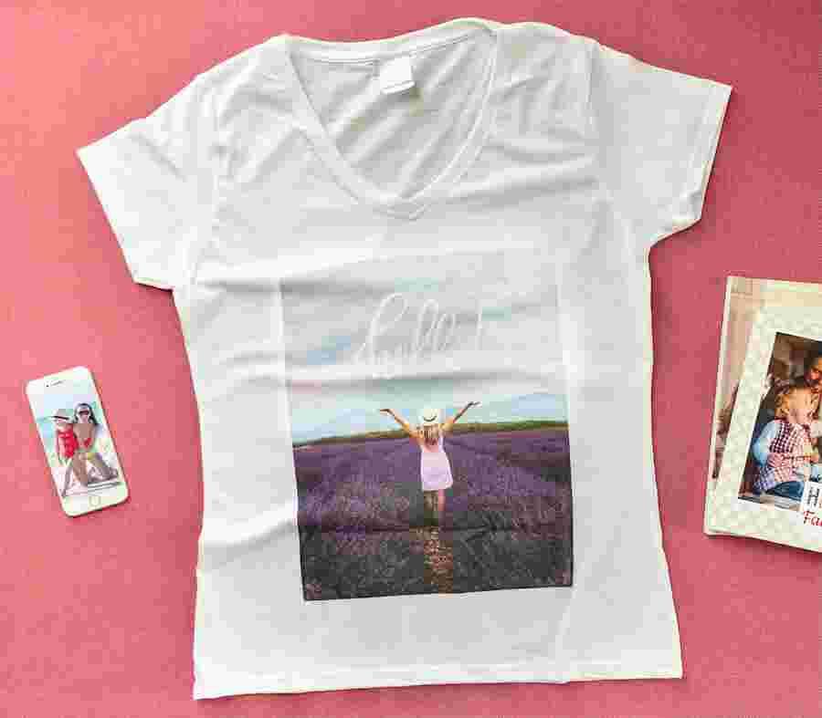 T Shirt Full Foto Donna_01 - PhotoSì
