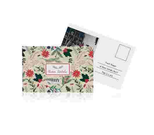 Christmas Garden Cartolina10X15 - PhotoSì