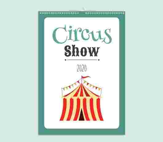 Circus Mensile 30X40_01 - PhotoSì