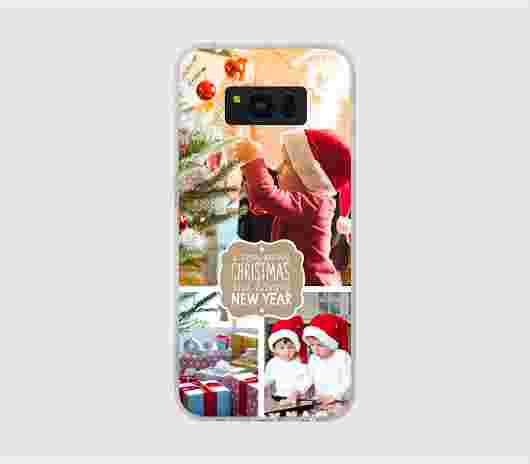 Cover Galaxy S8 Morbida Natale - PhotoSì