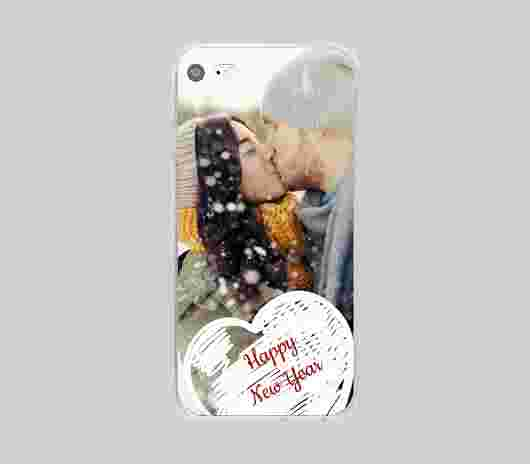 Cover Iphone 7 Morbida Happy - PhotoSì