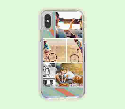 Cover Iphone X Rigida Stripes - PhotoSì