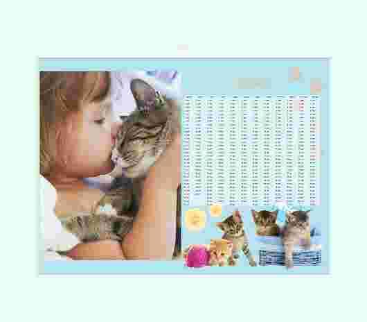 Cuccioli Annuale 40X30 - PhotoSì