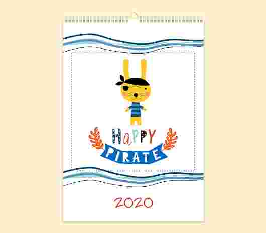 Happy Pirate Mensile 30X40_01 - PhotoSì