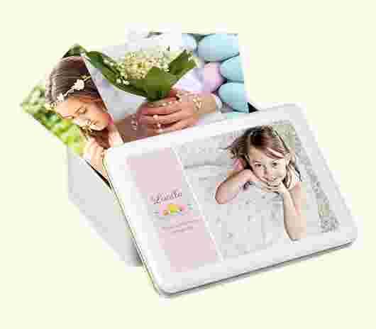 Memory Box Comunione Flower - PhotoSì