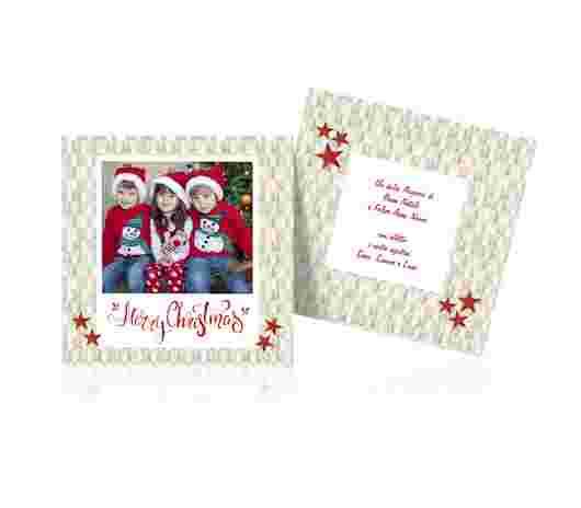 Merry Christmas Quadrato 12X12 - PhotoSì