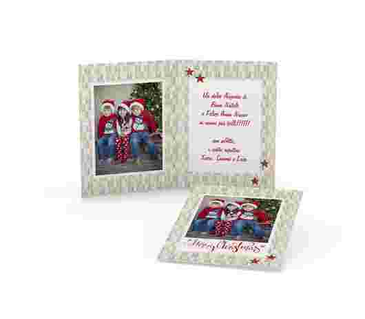 Merry Christmas Rettangolare - PhotoSì