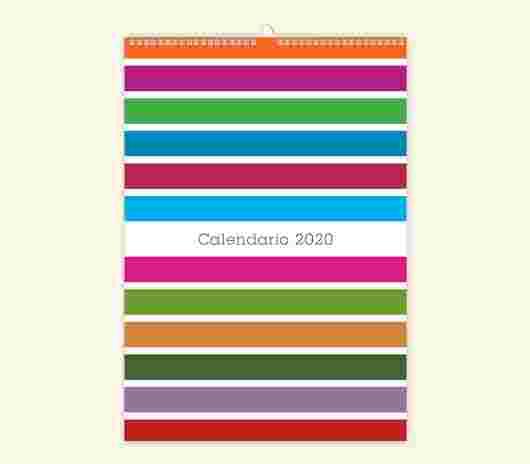 Minimal Color Mensile 20X30_01 - PhotoSì