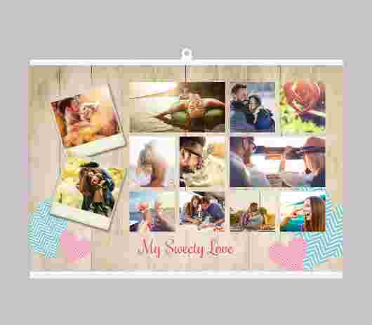 Poster Collage My Sweet Love - PhotoSì